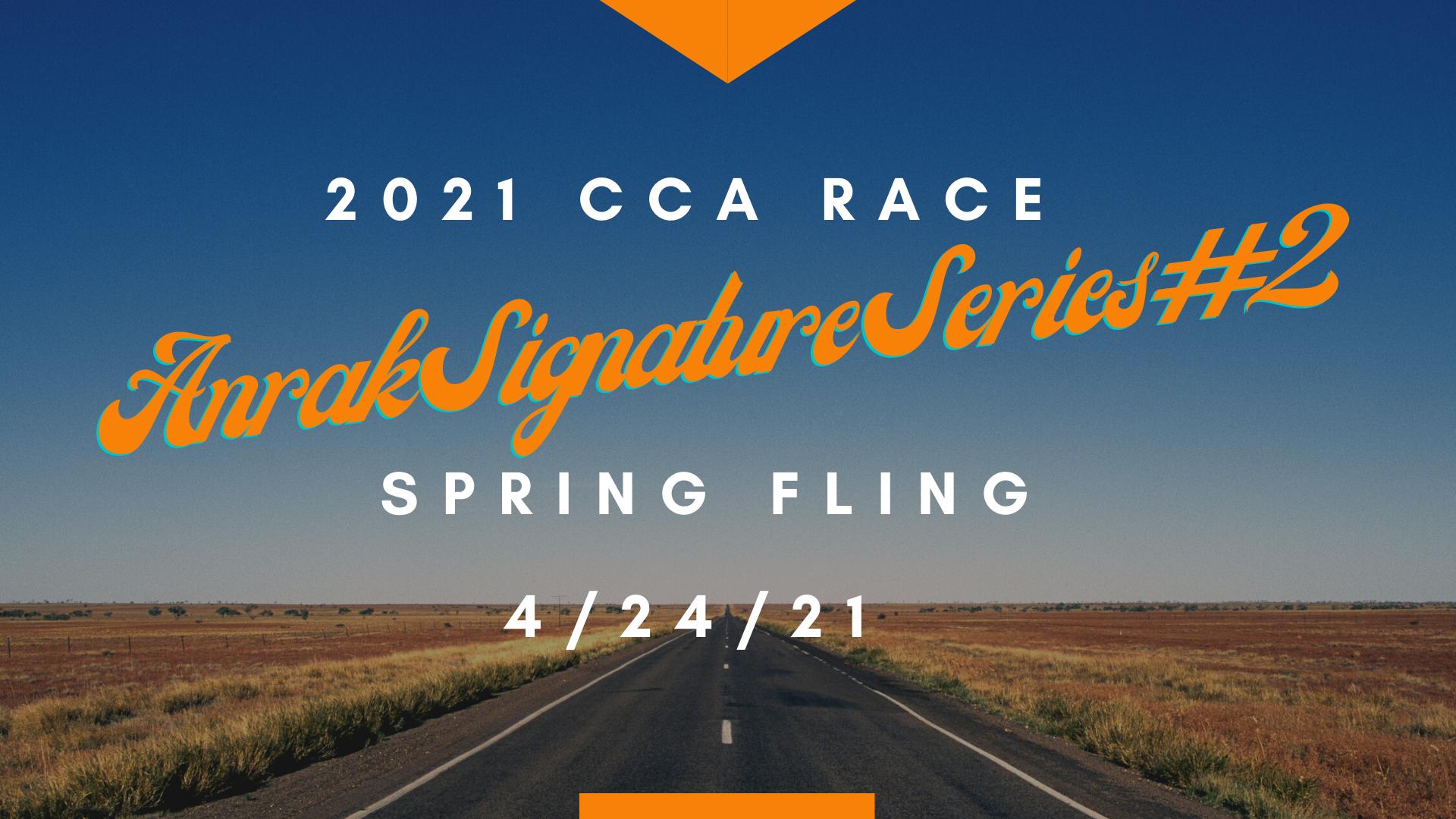 Signature Series CCA Race # 2 – Spring Fling