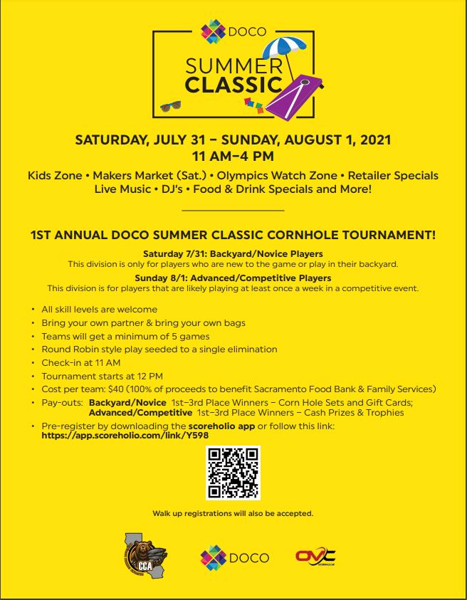 DOCO Summer Classic – Saturday and Sunday